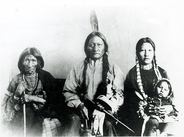 Daily Life for native americans living on the plains.