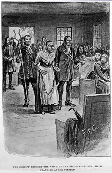 the lives of john and elizabeth proctor during the salem witch trials John was the first male to be accused a witch in salem he publicly supported and defended his third wife, elizabeth, when she was accused and tried for witchcraft he was sternly opposed to the witchcraft trials, and was 60-years-old at the time of his arrest.