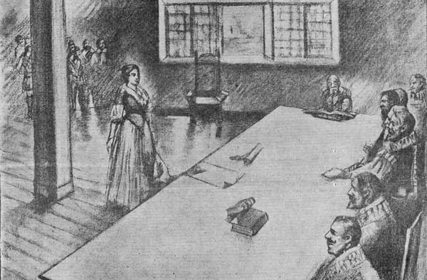 the instigation of accusations brought the salem witch trials Find out more about the history of salem witch trials, including videos,  interesting  the three accused witches were brought before the magistrates  jonathan.